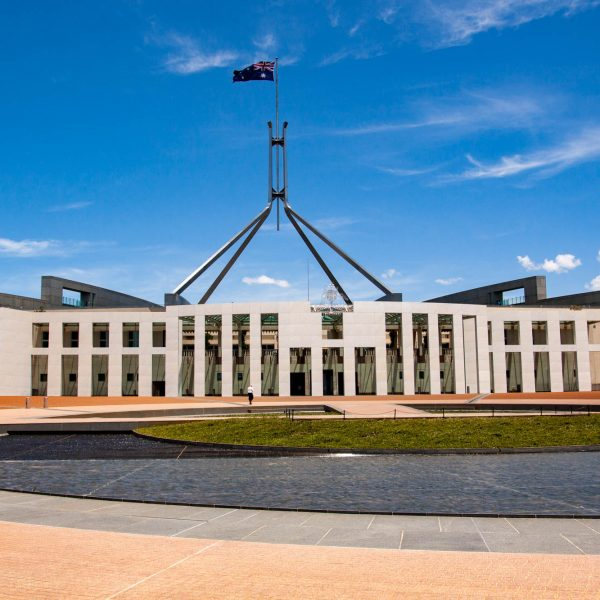 Parlamentsgebäude in Canberra