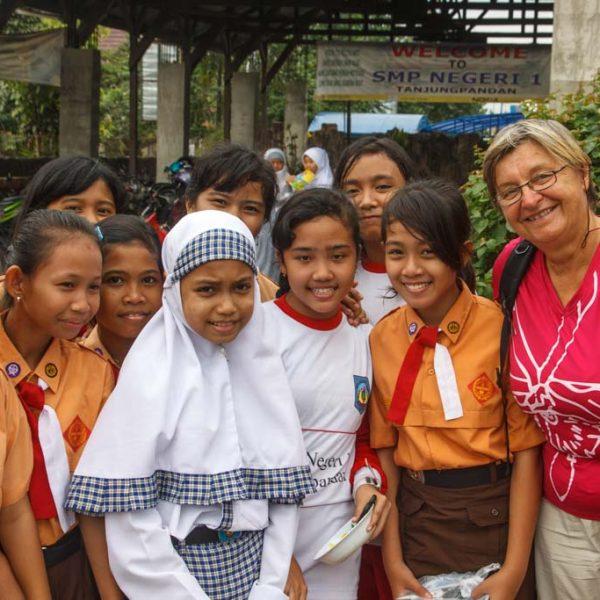 Besuch einer Schule in Belitung