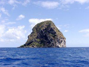 Diament Rock im Süden von Martinique